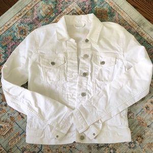Gap 1969 White Jean Jacket XS